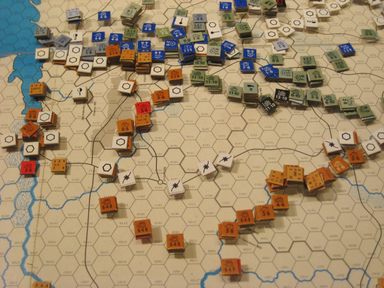 Jul I '42 - Soviets call retreat in the South, awaiting the Axis next move