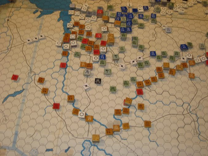 Chaos on the Southern Front while the German Sixth Army heads East.