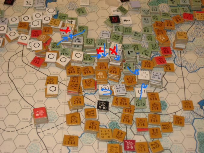 Collapse of the summer offensive