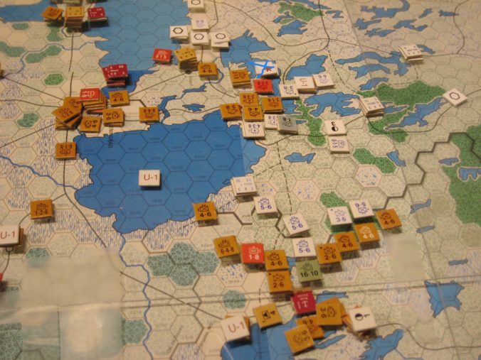 The Soviets defend the supply line to the Arctic