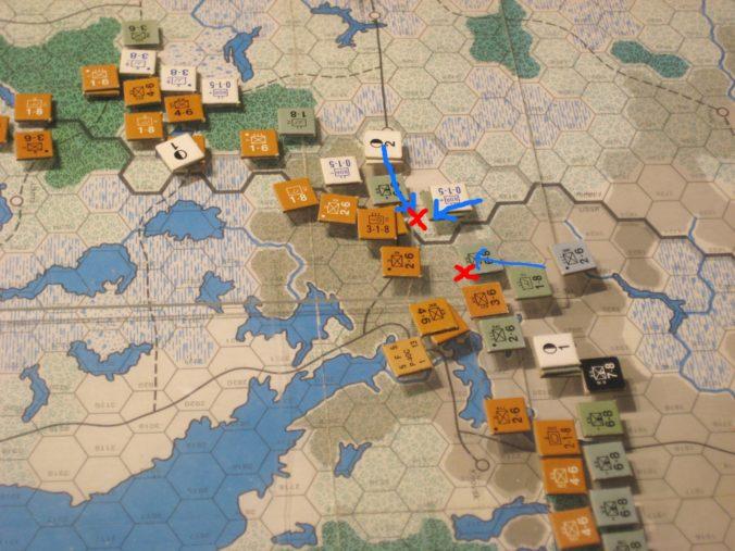 Battles along the Arctic rail line