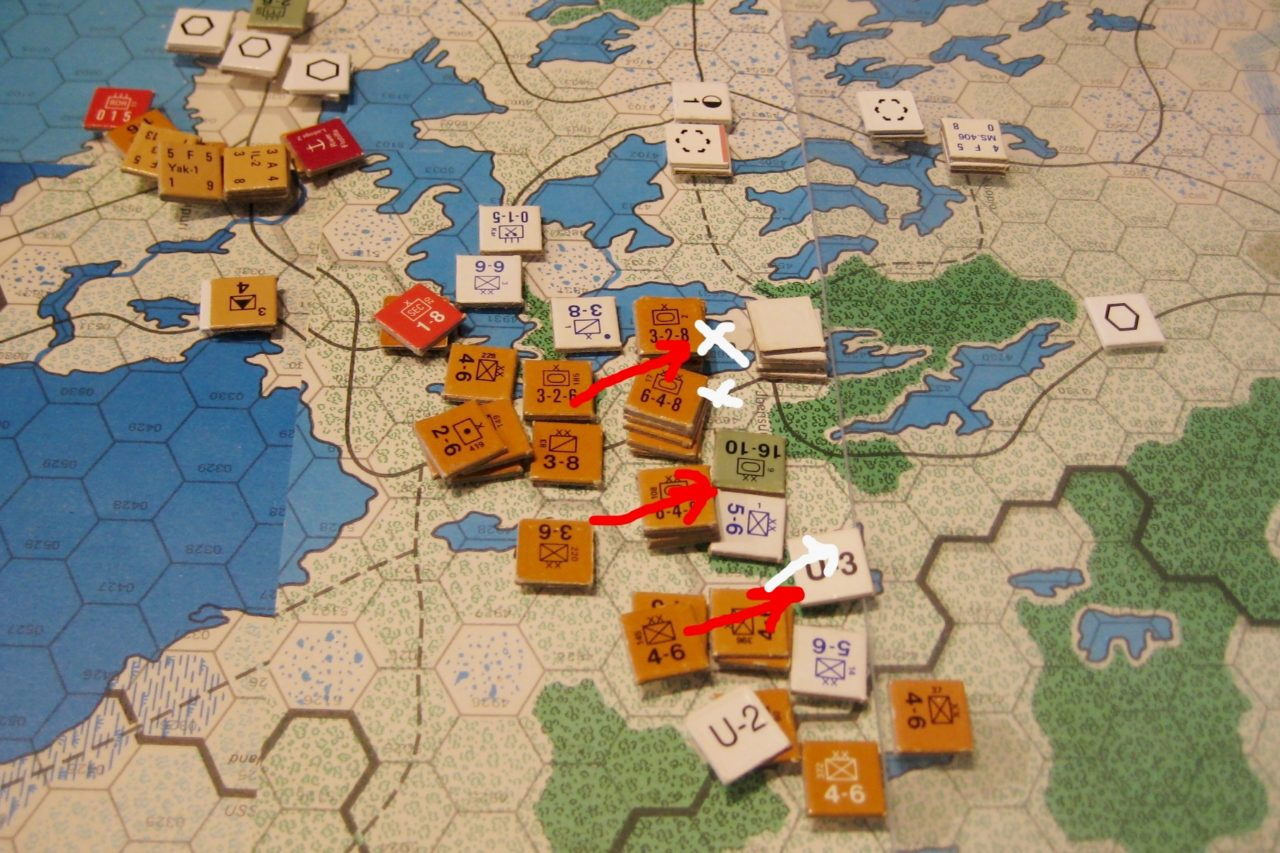 The destruction of the Finnish Army