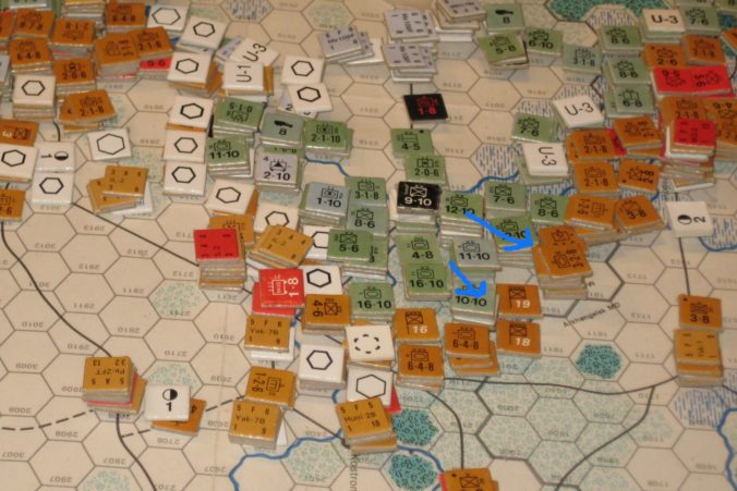 German counteroffensive north of Moscow