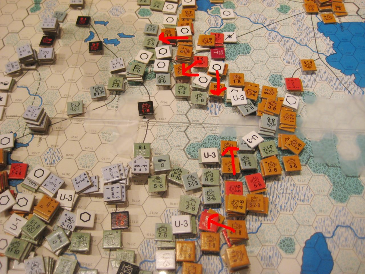Soviet Winter offensive against AG North