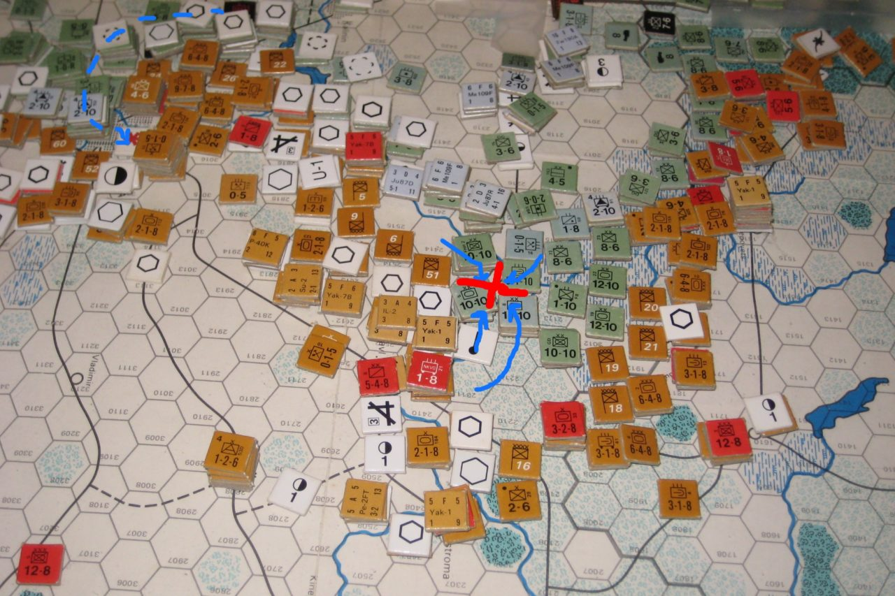 The destruction of 50th Army