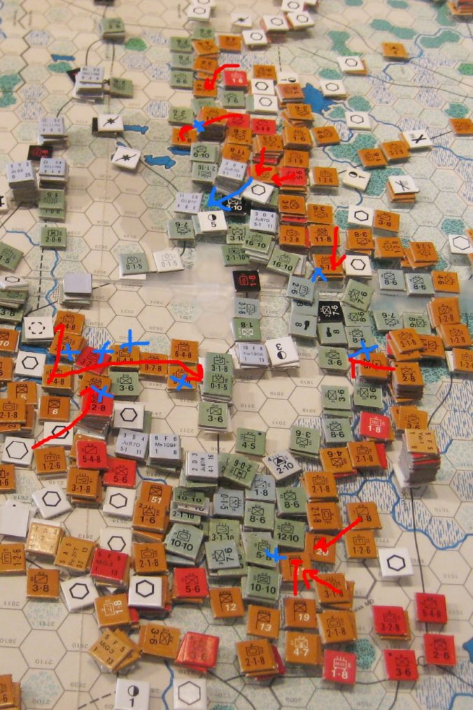 Moscow Front attacks!