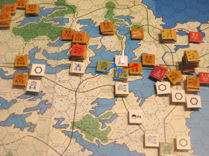 Southern Finland: The escape of 3rd Inf