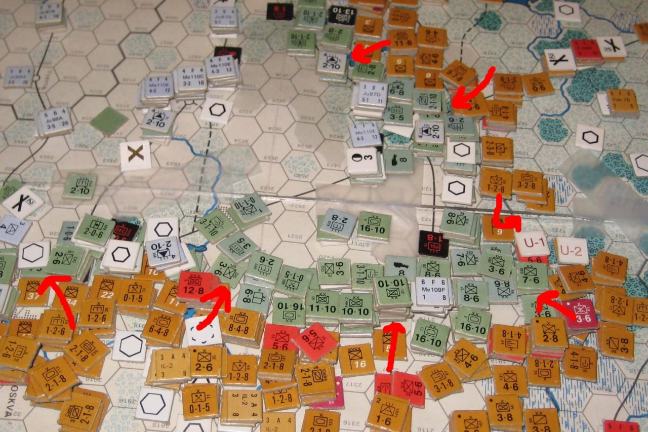 No Winter quarters for the Axis as the Soviets pound the german defences