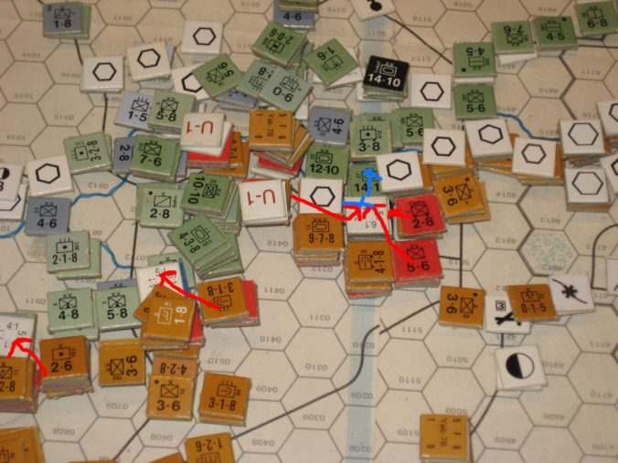 Soviet Turn: Soviet counterattack against the northern Axis pincer at Voronezh