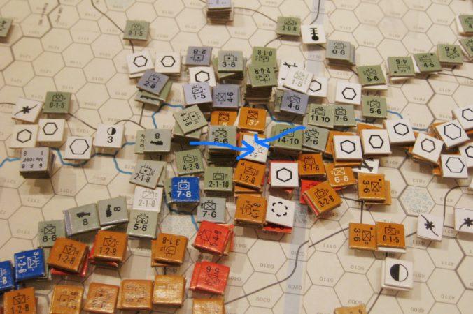 The Encirclement of Voronezh