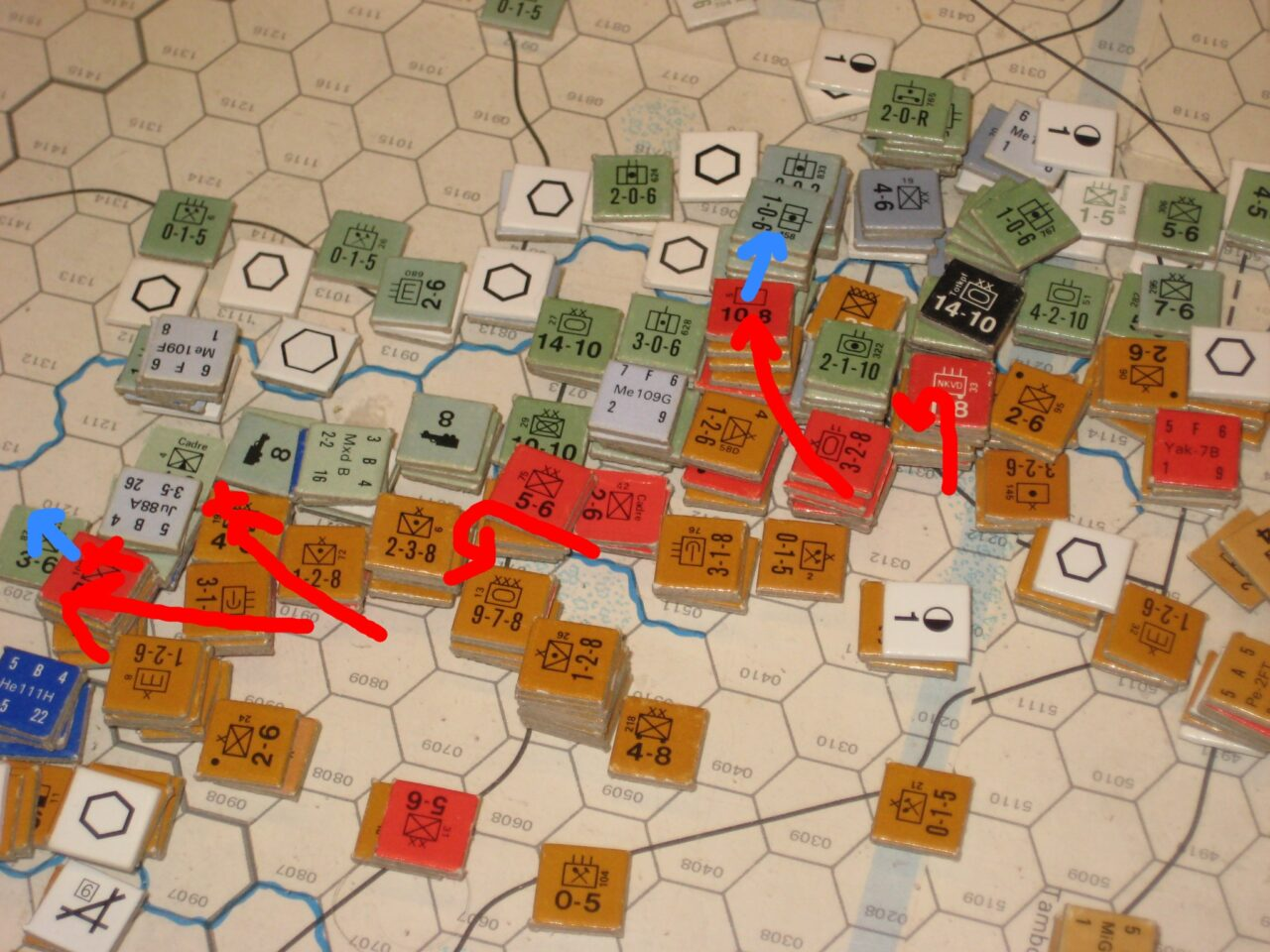 The Soviets fail to relieve Voroneszh