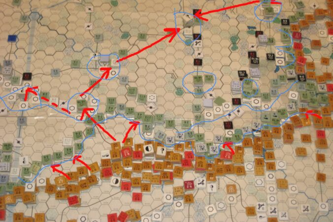 The Soviet plans for the summer offensive 1943 - Southern Front.