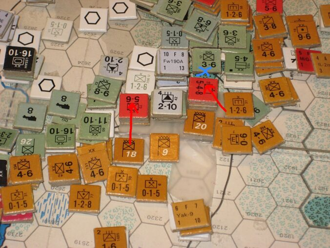 Mixed results in the Tula Sector
