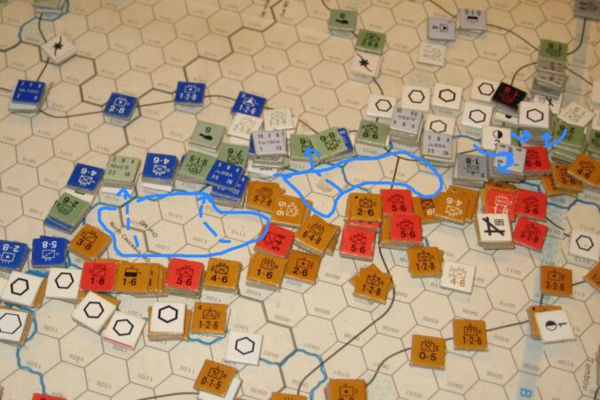 The Axis evacuate the area south of Voronezh, a counterattack East of the city fail