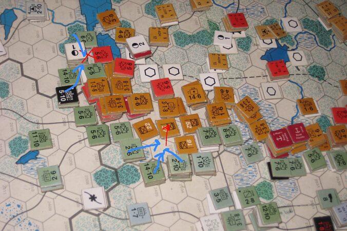 Double attacks at Pskov and Velikije Luki