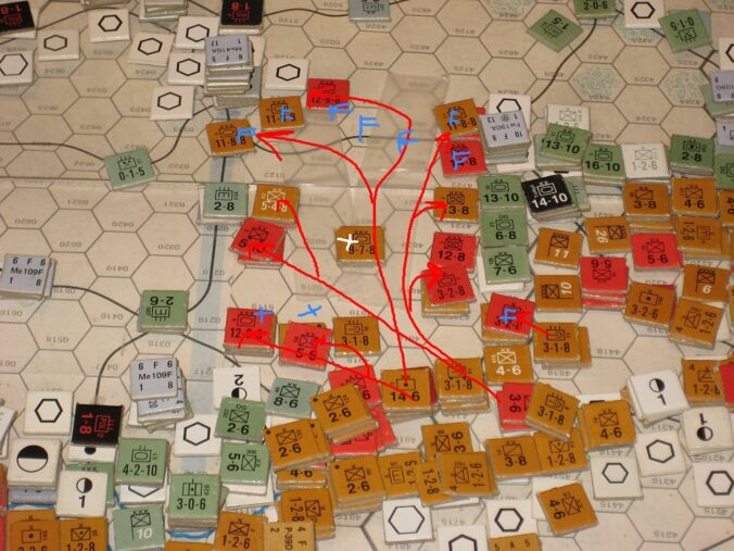 Soviet Mechanized Troops overrun Army Group Center