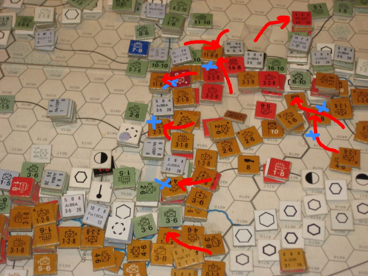 The Soviets rescue 9th Army and keep pushing West