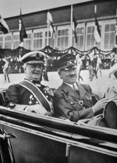 The Hungarian Dictator Horthy Miklós and Adolf Hitler, 1938. Credit: Ladislav Luppa
