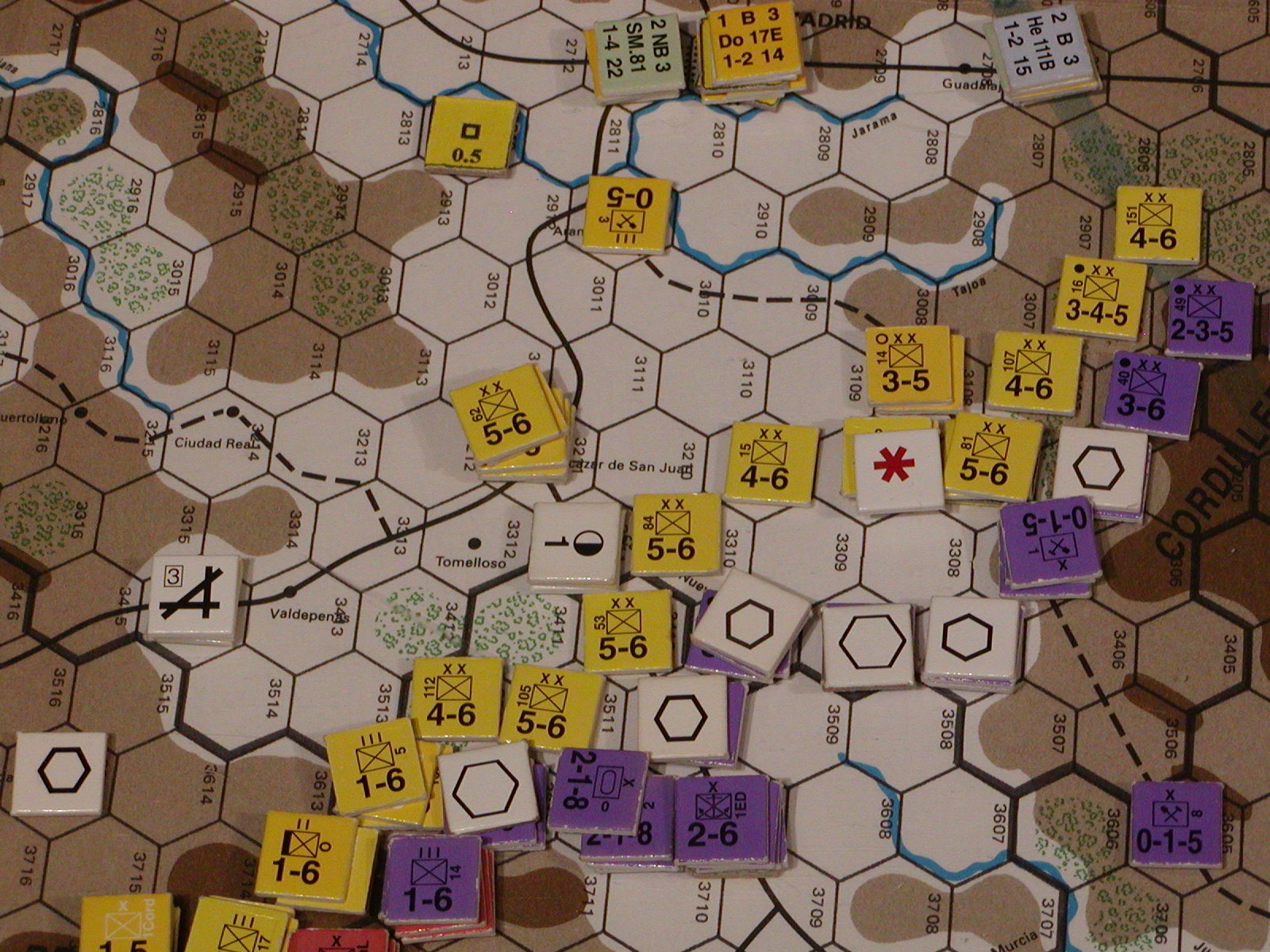 The Republic pulls back to original fortified lines on the Albecete front