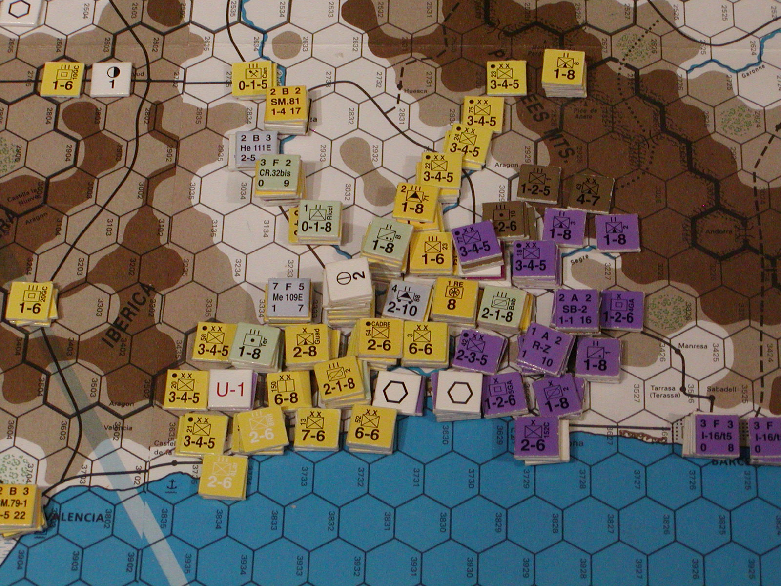 Jul I 1939: Tortosa encircled