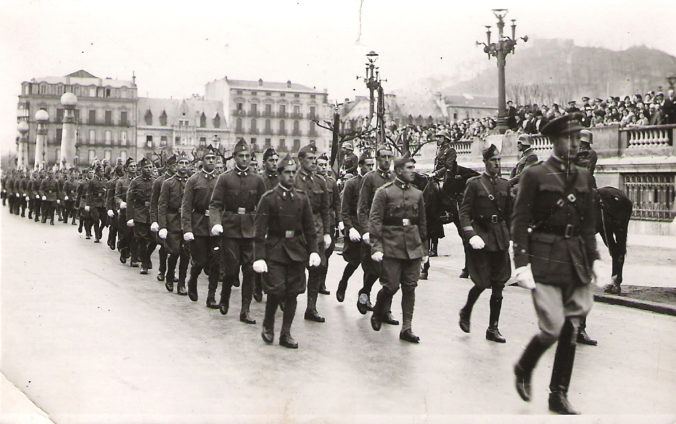 The Spanish 6th Division on Parade, May 30th, 1936
