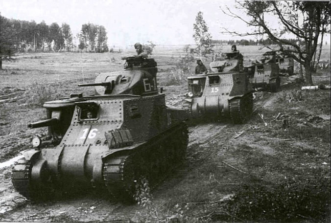 Soviet M3 Lee tanks of the 6th Guards Army Kursk July 1943