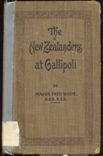 The New Zealanders at Gallipoli