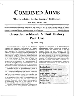 Combined Arms # 7/8 - Cover