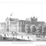 Das Generalstabsgebäude in Berlin, 1890