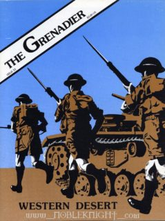 The Grenadier # 23 - Cover