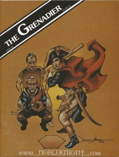 The Grenadier # 28 - Cover