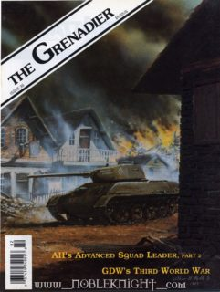 The Grenadier # 35 - Cover