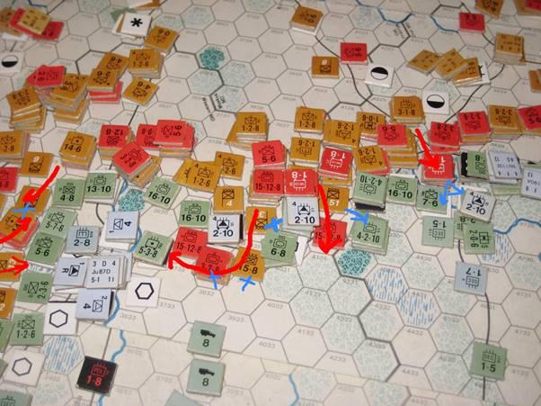 The Soviet rip the Axis line apart - again