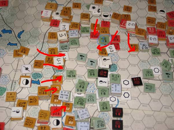 The Soviet Juggernaut rolls over the fleeing Axis North of the Moscow Highway