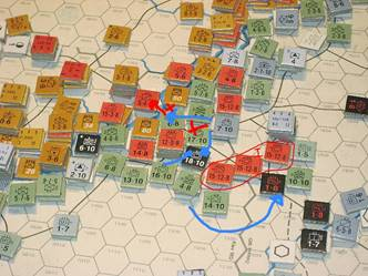 Axis attacks against the Cherkassy breakout