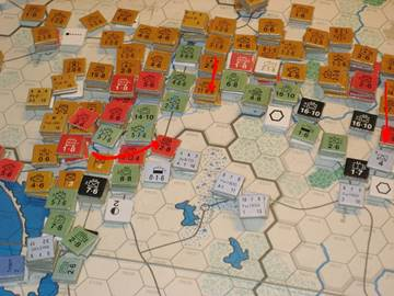The Soviet offensive into East Prussia