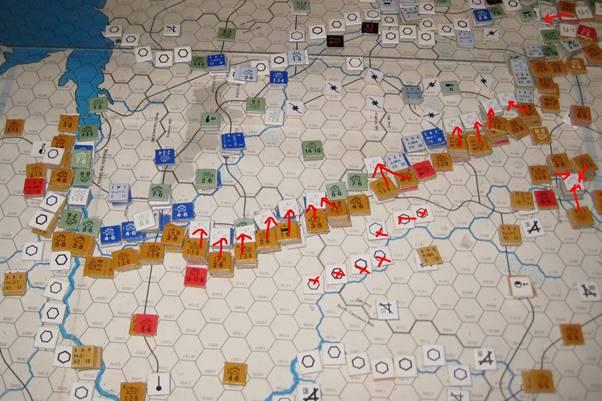 The Soviets liberate eastern Ukraine