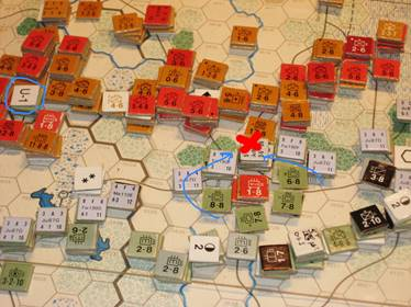 AGN Counter attack at Bialystok - the pincers clamp shut.