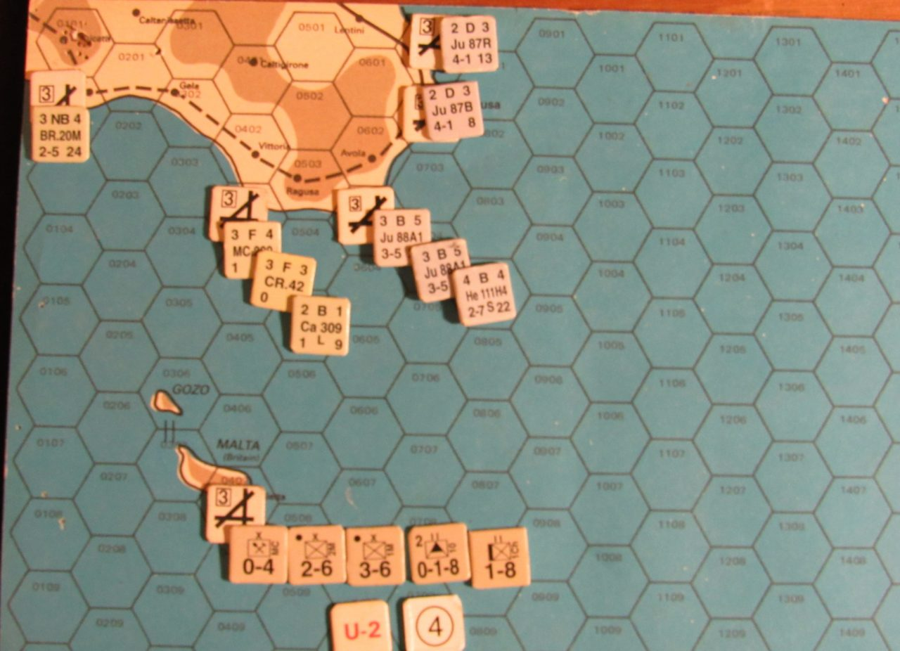 ER-II Mar II 41 At-Start: Sicily & Malta zones
