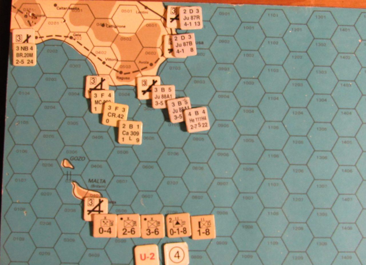ER-II Mar II 41 At-Start: Sicily & Malta zones