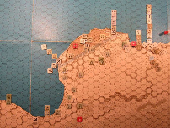WW ME/ER-II/Crete Scenario: Eastern Libya detail