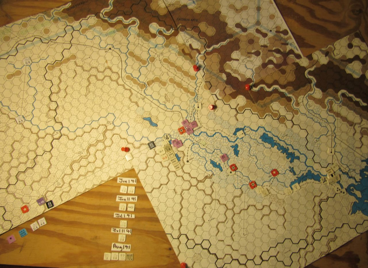 WW ME/ER-II/Crete Scenario May I 41 Allied EOT dispositions: Iraq region