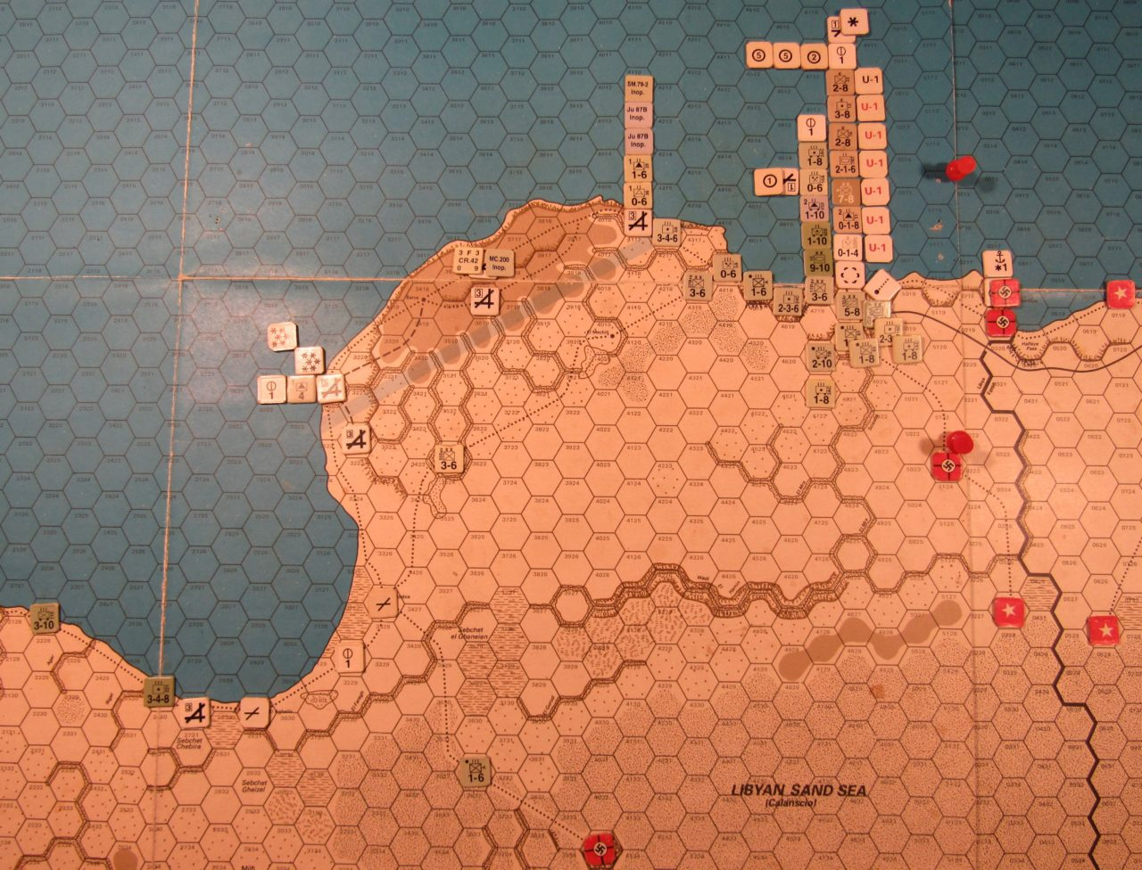 WW ME/ER-II/Crete Scenario May I 41 Axis EOT dispositions: eastern Libya detail