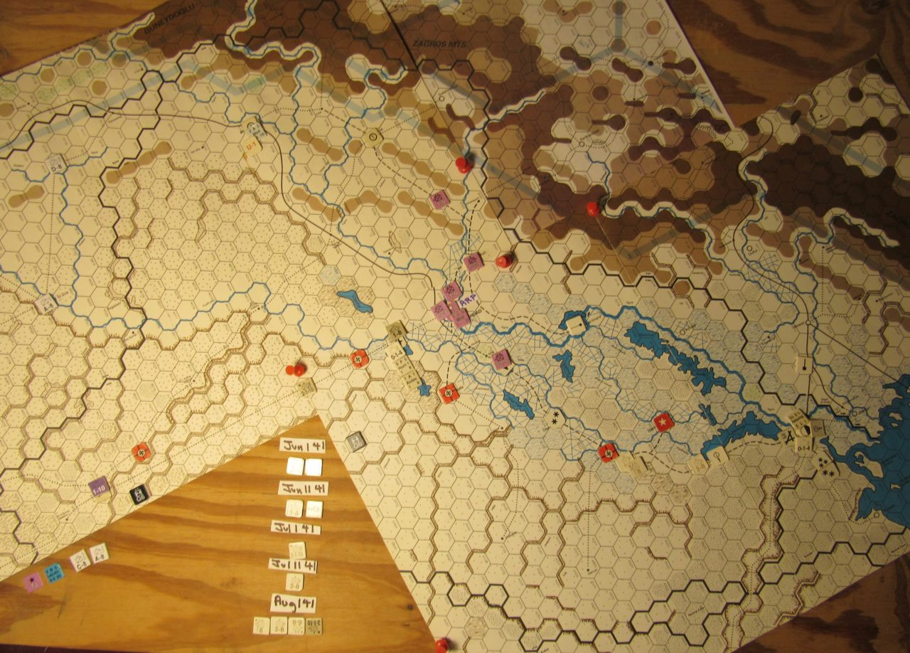 WW ME/ER-II/Crete Scenario May II 41 Allied end of the Initial Phase dispositions: Iraq