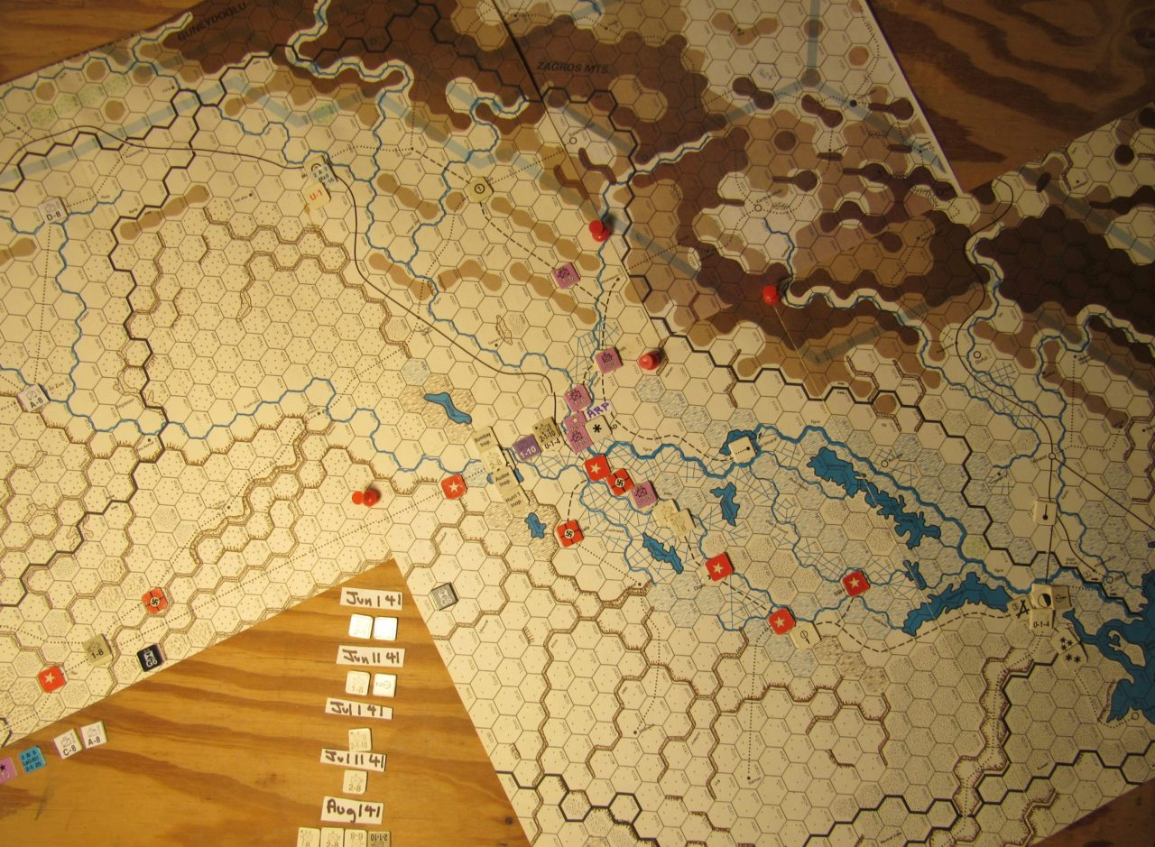 WW ME/ER-II/Crete Scenario May II 41 EOT dispositions: Iraq