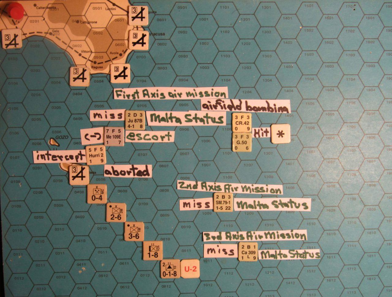 WW 1941 ME/ER-II/Crete Scenario May II 41 Axis beginning of the Movement Phase