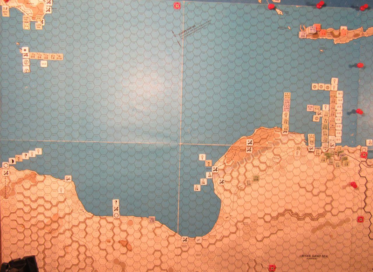 Jun I 41 Allied EOT dispositions: Libya, Sicily, and Malta