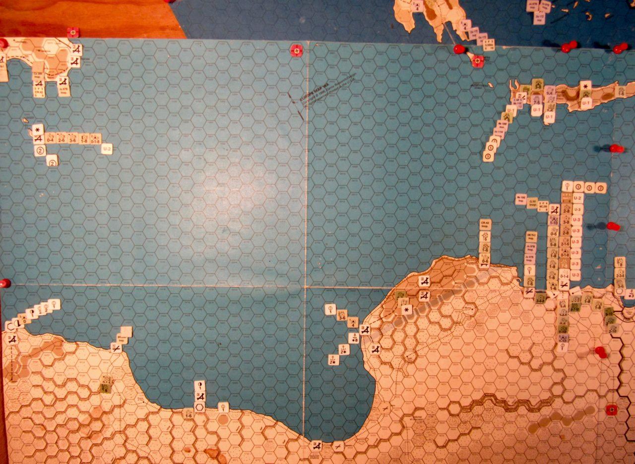 Jun I 41 Axis EOT dispositions: Libya, Sicily, Malta, Crete, and the SW zone of the Aegean Sea region