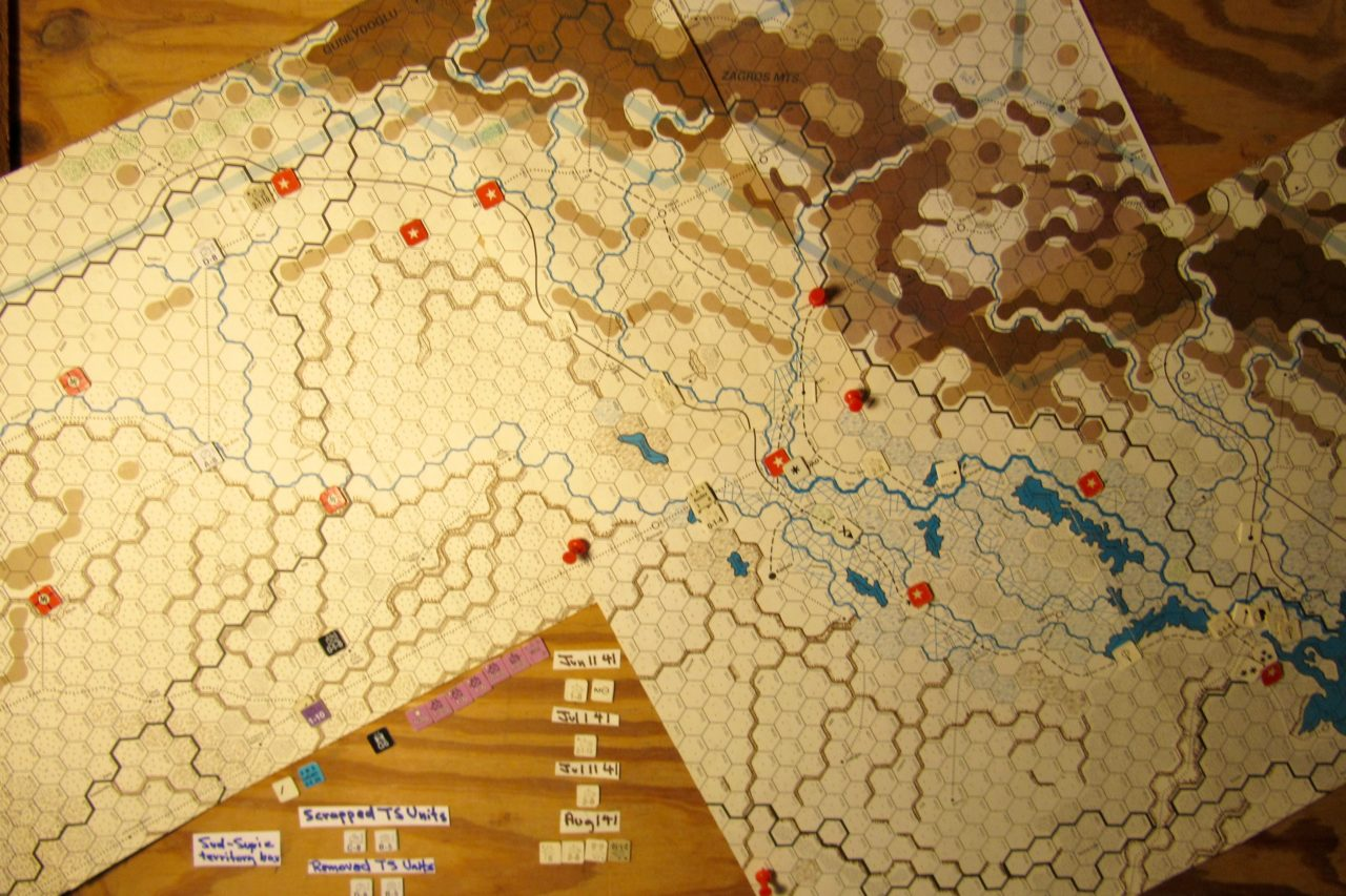 Jun I 41 Axis EOT dispositions: Iraq and eastern Vichy French Levant