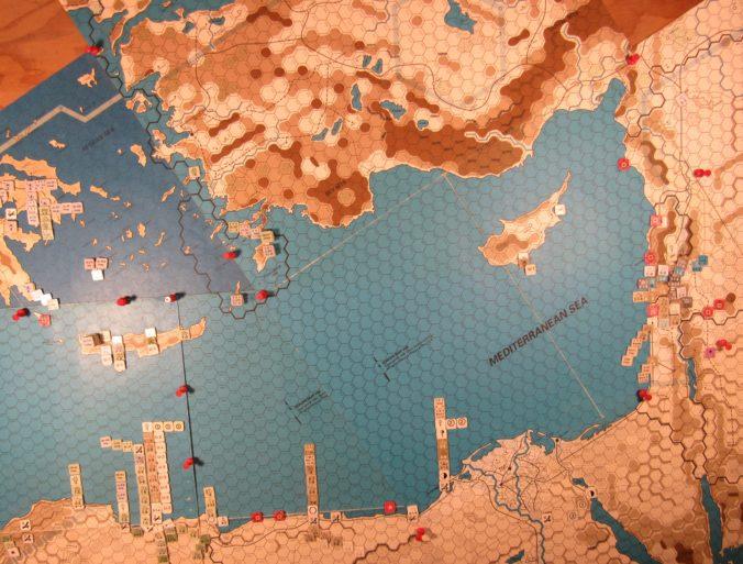 Jun I 41 Axis EOT dispositions: the Eastern Mediterranean Sea